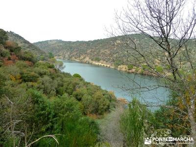 Garganta de Picadas - Vía Verde del Alberche; viajes de trekking; excursiones de montaña